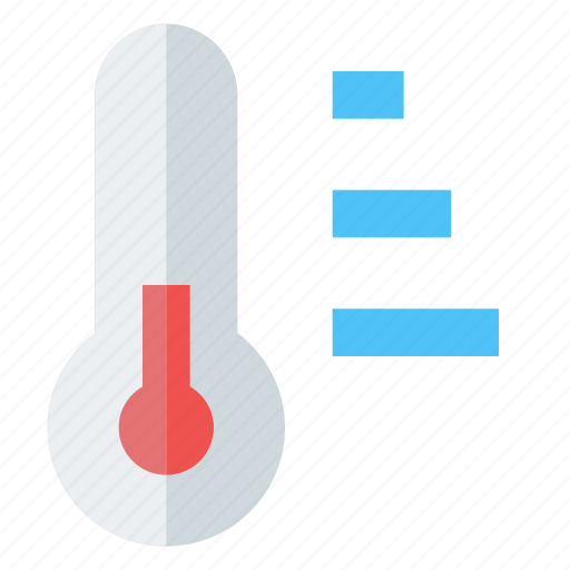 cold, fever, forecast, hot, measurement, temperature, thermometer icon