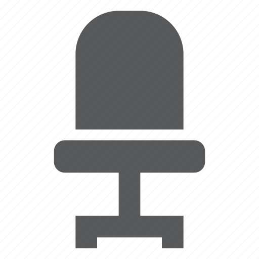 chair, furniture, office, seat icon