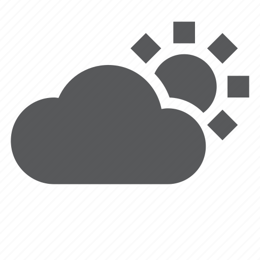 Cloud, cloudy, forecast, sunny, weather icon - Download on Iconfinder