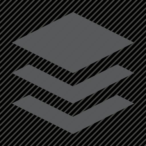 design, graphic, layer, layers, paper, stack icon