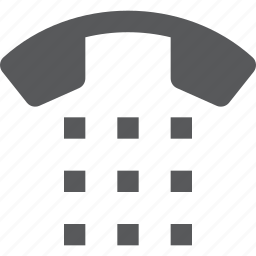 call, dial, keypad, number, phone, telephone icon
