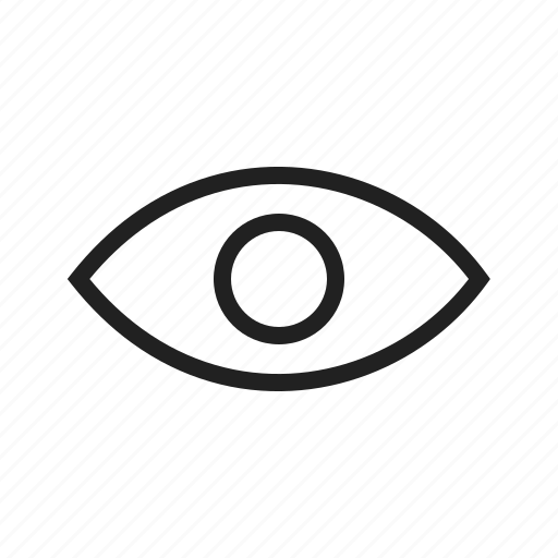 concept, eye, glass, magnifying, search, visibility icon