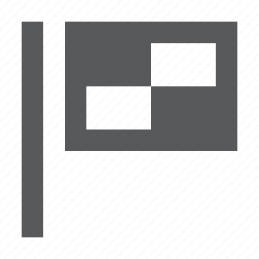 area, finish, flag, location, map icon