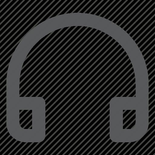 headphone, headset, hear, listen, music, sound icon