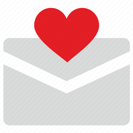 heart, letter, like, love, message icon
