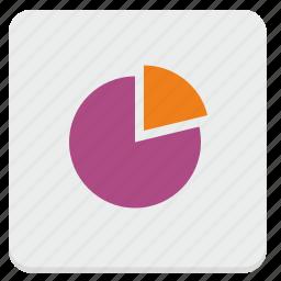 chart, data, metrics, pie, statistics icon