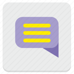 comment, dialog, im, message, text icon