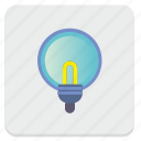 electric, lamp, light, lighting icon