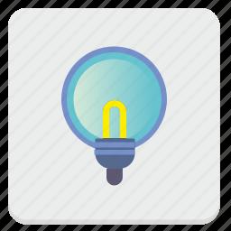 electric, lamp, light, lighting icon