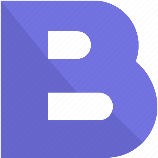 alphabet, b, design, latin, letter, material icon