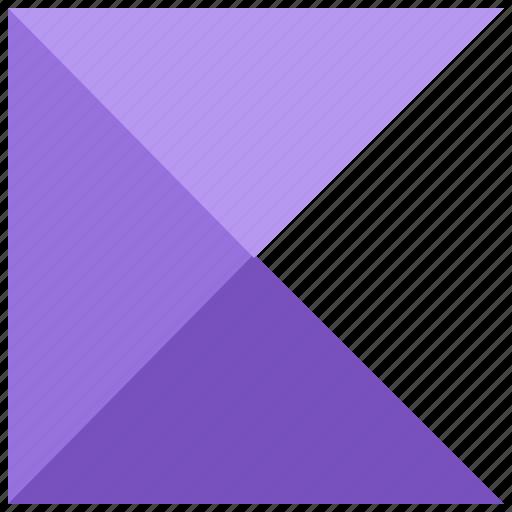 alphabet, design, k, latin, letter, material icon