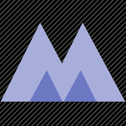 alphabet, design, latin, letter, m, material icon