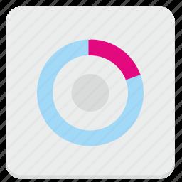 chart, data, economic, part, pie, report icon