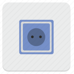 connection, electric, power, socket icon