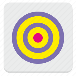 ad, aim, conversion, shooter, target icon