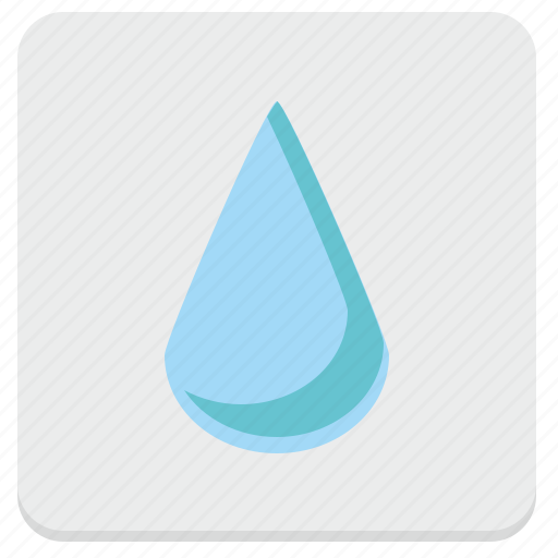 blob, drink, drop, fluid, mineral, water icon