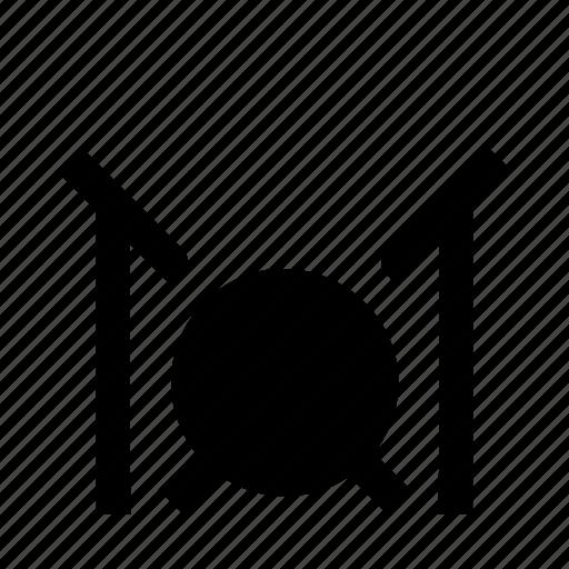 drum, drummer, drumset, percussion, set icon