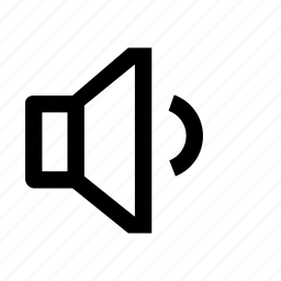 medium, song, sound, speaker icon