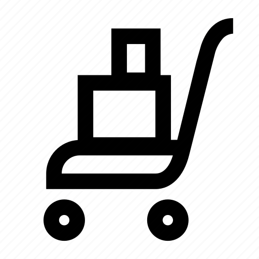 cart, loaded, market, plus, shop, track icon
