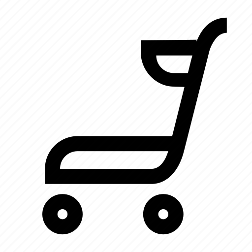 cart, market, shelf, shop, track icon