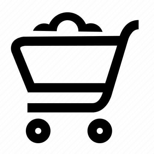 basket, buy, cart, loaded, packed, shop, shopping icon