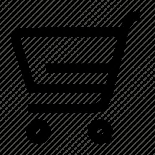 basket, buy, cart, shelf, shop, shopping icon
