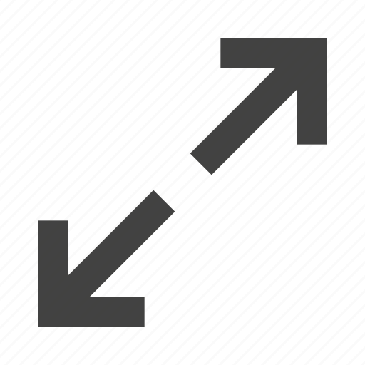 arrow, expand, in, material, maximize, zoom icon
