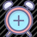 alarm, clock, time, zone icon