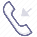 call, income, phone icon