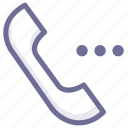 call, options, phone icon