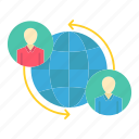 connected, connections, global, internet, user