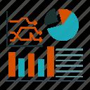 business, flowchat, graph, success icon