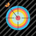 arrow, board, dart, focus, target icon