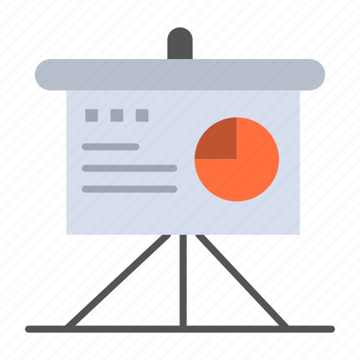 analytics, board, business, presentation icon