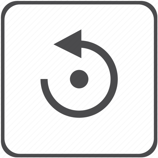 anticlockwise, arrow, counterclockwise, rotate icon