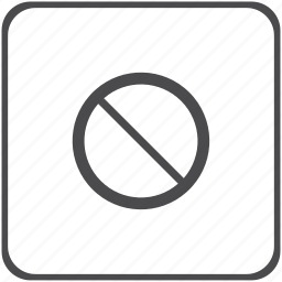 ban, delete, forbidden, problem icon