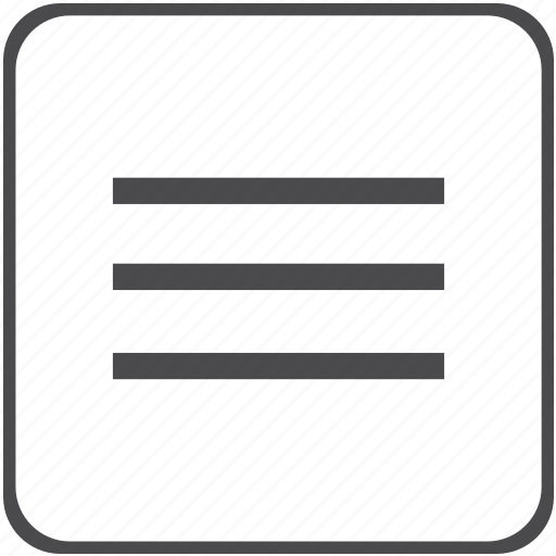 definition, equivalevce, list, math, menu icon