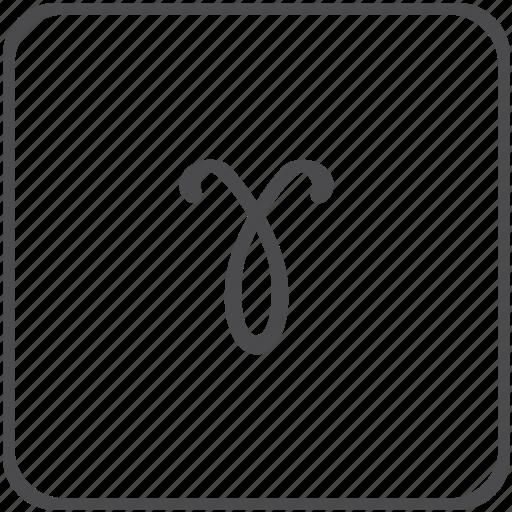 gamma, greek, lorentz, photon, physics icon