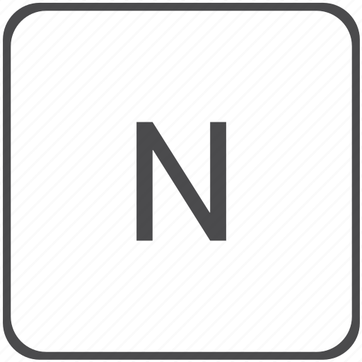 math, n, normal, physics icon