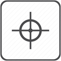 aim, archery, business, finance, target icon