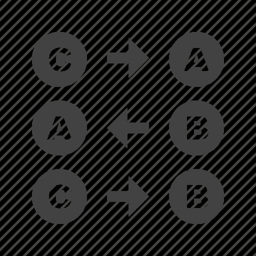 algorithm, arithmetic, boolean, education, function, logic, mathematics icon