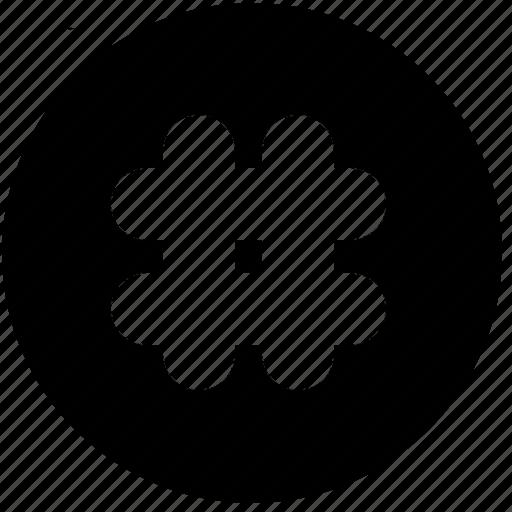 circle, hashtag, keys, shapes, signs, symbols, tag icon