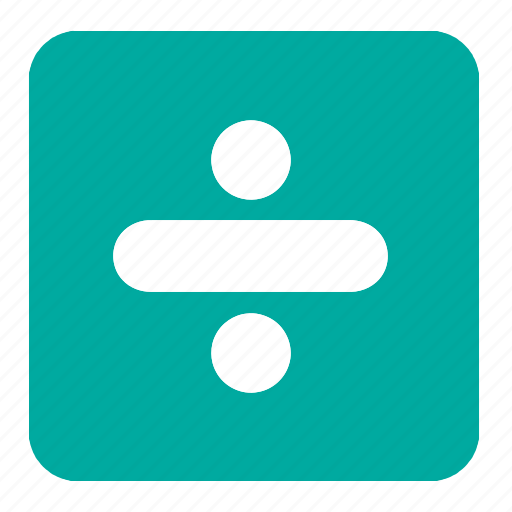 calculation, divide, division, math, mathematics, signs, symbols icon