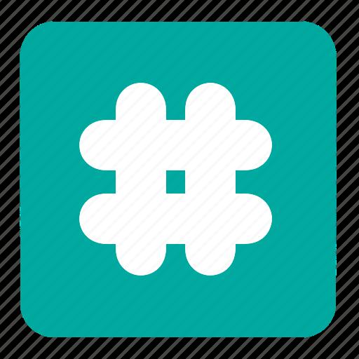 calculation, hashtag, math, mathematics, signs, symbols, tag icon
