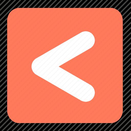 arrow, less than, math, mathematics, pointer, signs, symbols icon