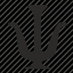 alphabet, greek, letter icon