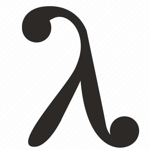 alphabet, greek, lambda, letter, math, value icon