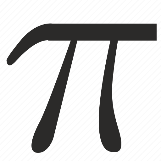 letter ad alphabet letter math pi icon 15110 | pi math greek alphabet letter 512