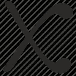 alphabet, greek, letter, x, xsi icon