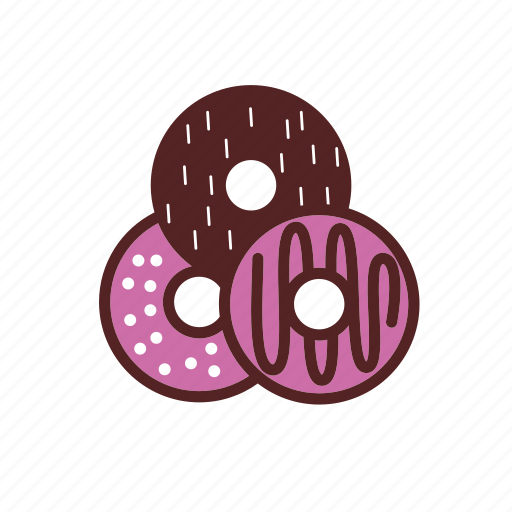 backery, donuts, food, meal, topping icon